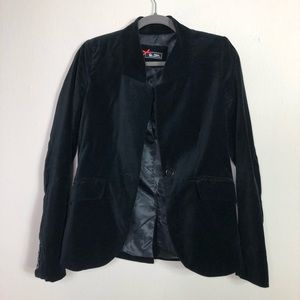 Jackets & Blazers - ⚡️CLEARANCE ⚡️ Sinequanone velvet blazer 36